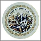 Lafayette At The Siege Of Yorktown Collector Plate by Andre Restieau