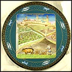 March Collector Plate by Jean Dutheil