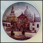 L' Eglise Saint - Pierre Collector Plate by Louis Dali