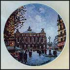 L' Opera Collector Plate by Louis Dali