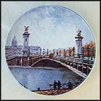 Le Pont Alexandre III Collector Plate by Louis Dali