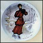 Colette, The Sportswoman Of 1890 Collector Plate by Francois Ganeau