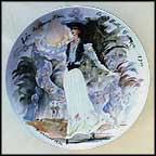 Lea, The Woman Flower Of The Beautiful Era, 1900 Collector Plate by Francois Ganeau