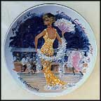 Marlene, The Vamp, The Sophisticated Woman, 1935 Collector Plate by Francois Ganeau