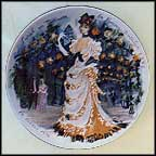 Sarah In Bustle, The Woman Of Temptation, 1875 Collector Plate by Francois Ganeau