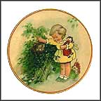 How Good Of God Collector Plate by Mabel Lucie Attwell