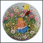 All Things Bright And Beautiful Collector Plate by Linda Worrall