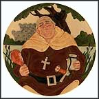Friar Tuck Collector Plate by Douglas Tootle MAIN