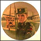 Patriotic Soldier: Bad Nauheim, West Germany Collector Plate by Diane Sivavec MAIN