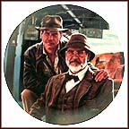 Indiana Jones And His Dad Collector Plate by Victor Gadino MAIN