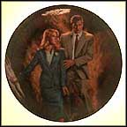 Indiana Jones And Dr. Schneider Collector Plate by Victor Gadino