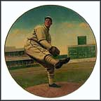 Lefty Grove: His Greatest Season Collector Plate by Jeff Barson MAIN