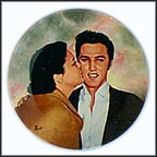 Elvis And Gladys Collector Plate by Bruce Emmett