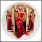 How To Marry A Millionaire Collector Plate by Chris Notarile