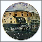 Briggs Stadium: Home Of The Tigers Collector Plate by David Henderson