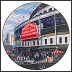 Wrigley Field: The Friendly Confines Collector Plate by David Henderson MAIN
