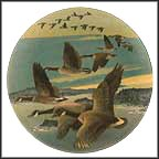 Southward Bound Collector Plate by Donald Pentz