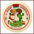 A Merry Christmas Collector Plate by Joan Walsh Anglund