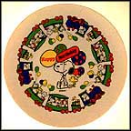 Birthday Plate Collector Plate by Charles Schulz