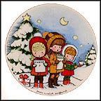 Christmas Carols Collector Plate by Joan Walsh Anglund
