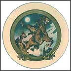 The Midnight Ride Of Paul Revere Collector Plate by J. C. Leyendecker