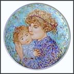 Jessica And Kate Collector Plate by Edna Hibel