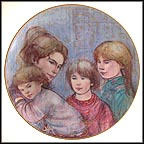 Leah's Family Collector Plate by Edna Hibel