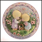 Good Friends Are Forever Collector Plate by Samuel Butcher