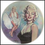 Marilyn Monroe Collector Plate by Susie Morton