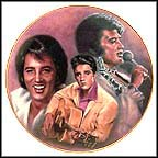 Elvis Presley Collector Plate by Susie Morton