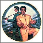 Rockin' In The Moonlight Collector Plate by Susie Morton
