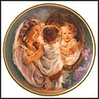A Touching Moment Collector Plate by Ann Manry-Kenyon