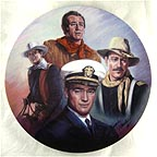 John Wayne - The Tribute Collector Plate by Susie Morton