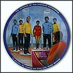 Beam Us Down Scotty Collector Plate by Susie Morton