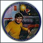 Chekov Collector Plate by Susie Morton
