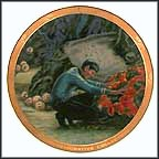 Devil In The Dark Collector Plate by Susie Morton