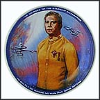 Captain Kirk Collector Plate by Susie Morton