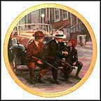A Piece Of The Action Collector Plate by Susie Morton