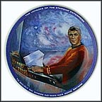 Scotty Collector Plate by Susie Morton