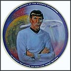 Mr. Spock Collector Plate by Susie Morton