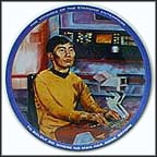 Sulu Collector Plate by Susie Morton