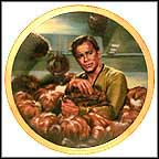 The Trouble With Tribbles Collector Plate by Susie Morton