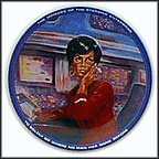 Uhura Collector Plate by Susie Morton