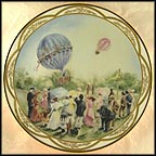 Balloon Race Collector Plate by Rusty Money