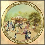 Children's Carousel Collector Plate by Rusty Money