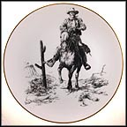 John Wayne Collector Plate by Clarence Thorpe MAIN