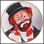 Freddie The Freeloader Collector Plate by Red Skelton