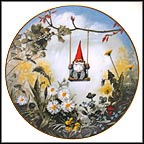 Little Swinger - Spring Collector Plate by Rien Poortvliet MAIN