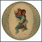 Hug Me Collector Plate by Irene Spencer