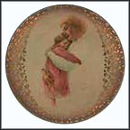 Sleep Little Baby Collector Plate by Irene Spencer